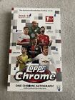 2018 19 TOPPS CHROME BUNDESLIGA SOCCER HOBBY BOX FACTORY SEALED