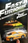 2013 Hot Wheels 1994 Toyota Supra orange color silver wing 2 8 Fast  Furious