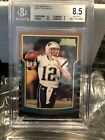 2000 Bowman Tom Brady Buccaneers Patriots BGS 8.5 With A 9.5 9 Rookie Goat PSA