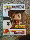 Funko Pop DC Shazam Glow in the Dark Hot Topic Exclusive Comes With Protector