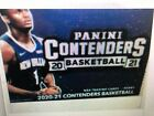 2020 21 PANINI CONTENDERS BASKETBALL SEALED HOBBY BOX RELEASE 5 19