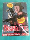1988 Topps Fright Flicks Trading Cards FULL BOX  36 UNOPENED Wax Packs