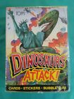 1988 Topps Dinosaurs Attack Trading Cards Box 48 Wax Packs