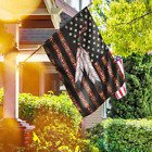 Native American Feathers Pride American Flag For Home Garden Flag Decor