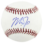 Angels Mike Trout Authentic Signed Oml Baseball Autographed JSA #Z32202