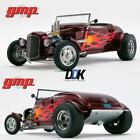 GMP18926 1934 Hot Rod Roadster Brandywine Metallic with Flames Diecast Car 118