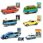 GREENLIGHT 54050 GARBAGE PAIL KIDS SERIES 3 SET OF 6 DIECAST CARS 164