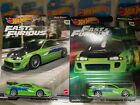 Hot Wheels Fast and Furious 95 Mitsubishi Eclipse Lot of 2