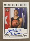 2008-09 Topps Auto Russell Westbrook Rookie Photo Shoot Blue Autograph