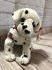 RESCUE FDNY ty BEANIE BABIES DOG 2001 FIRE FIGHTER NEW YORK DALMATION 911 PLUSH