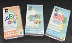 3 Cricut Cartridges SIMPLY SWEET LOCKER TALK STAND AND SALUTE Free Shipping