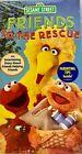 Sesame Street Friends to the Rescue VHS 2005 New Sealed Sony Wonder