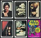 1977 TOPPS STAR WARS Series 3 Complete Card Set With 66 Cards & 11 Stickers