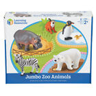 Learning Resources Jumbo Zoo Animals NEW FREE SHIP