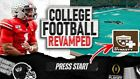NCAA FOOTBALL 14 COLLEGE FOOTBALL REVAMPED FILES DISC V11 FOR PS3.
