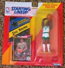1992 Dee Brown Boston Celtics ROOKIE Starting Lineup figure with poster Mint