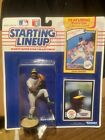 Starting Lineup 1990 Dave Stewart Oakland A's W/collectors Rookie Card