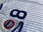 100% Authentic Andre Dawson Mitchell Ness 1987 Chicago Cubs Home Jersey 40 Med