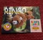 RINGO Ty Beanie Baby/Babies Collector's Club Trading Card Series 1, (1998) BBOC