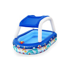 Bestway H2OGO Sea Captain Inflatable Family Pool with UV Careful Sunshade