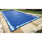 In Ground Winter Pool Cover 20 ft x 40 ft Rectangular Tear Resistant Royal Blue
