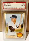 Comprehensive Guide to 1960s Mickey Mantle Cards 218