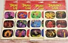 Dragons Lair CTP Scratch N Sniff set of 4 in original package UHTF ULTRA RARE