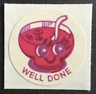 Vintage CTP MATTE Scratch  Sniff Stickers Fruit Punch 1977 Strong Scent