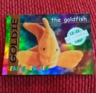 GOLDIE (SILVER) Ty Beanie Baby/Babies Collector Club Trading Card Series 1 1998