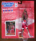 LOY VAUGHT Starting Line Up L.A. Clippers #35 Card & Basketball Figure SLU 1997