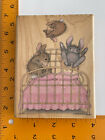 Bunny Hop by Stampabilities House Mouse Designs Jumping on the Bed