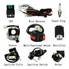 Stator Wiring Harness CDI Ignition Coil Solenoid ATV Bike 50cc to 125cc