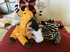 Lot of 3 Retired Ty Beanie Babies –  –  Oats,   Ziggy and  Twigs