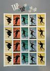 2021 Tap Dance Stamps No Die Cut Imperforate Sheet of 20