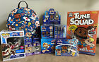 Space Jam Lot NWT Backpack, Mystery Minis Case, Tee, Taz Pop, Keychains, Pin Set