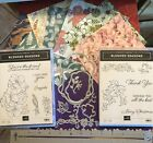 STAMPIN UP BLENDED SEASONS CRAFT STAMPS DIES MUST HAVE ALL OCCASIONS BONUS DSP