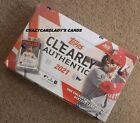 2021 TOPPS CLEARLY AUTHENTIC BASEBALL HOBBY BOX FREE SHIPPING