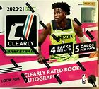 2020 21 Panini Clearly Donruss Basketball Hobby Box PRIORITY MAIL SHIPPING!!