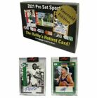 2021 Leaf Pro Set Sports Sealed Emerald Edition Hobby Box 2 AUTOS 5 IN HAND