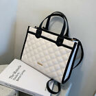 NEW Womens Designer Tote bag White Large Fashion New High quality PU Leather