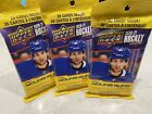NEW 2021 NHL UPPER DECK HOCKEY Series 2 SEALED FAT VALUE PACK 26 Cards *B 3 Pack