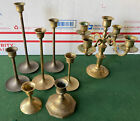 Lot Of Brass Candlestick Candle Holder From 25 9 Taper Wedding Dcor Sets