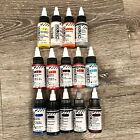 15 Golden High Flow Acrylic Paint Lot Brand New Mixed colors