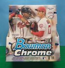 2018 Bowman Chrome Baseball Hobby Box *READ SMALL CREASE ON OUTER PACKAGING*