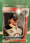 Jack Eichel National Hockey Card Day Memorable Moments UD 2015 Unopened Pack BN