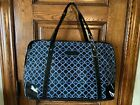 Rare NORWEX Black  Blue Logo Consultant Large Carry on Luggage Travel BAG New