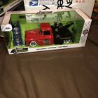 New Jada JUST TRUCKS 1955 Chevy Stepside Tow Truck West Wreckers Red Rare