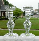 WATERFORD CRYSTAL 7 1 2 HOLLOW STEM CANDLESTICKS