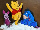 Winnie The Pooh and Friends Handmade Solid Wood Cutouts
