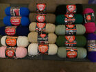 New Huge 17 Skein Yarn Lot Red Heart Super Saver 7 And 8 Oz Acrylic